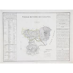 1853 MARZOLLA BENEDETTO 1801 1858 LITOGRAFIA a