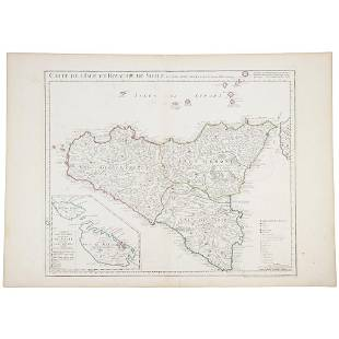 1781 DELISLE GUILLAUME 1675 1726 BUACHE PHILIPPE
