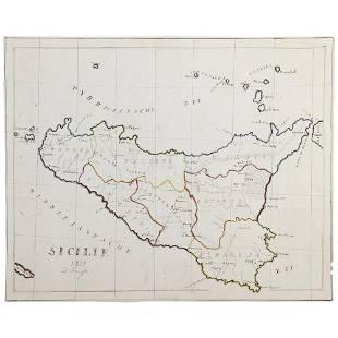 1857 TEUNISSEN D CARTA manoscritta su carta pesante