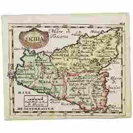 1661 DUVAL PIERRE JOSEPH (1618 - 1683) INCISIONE in