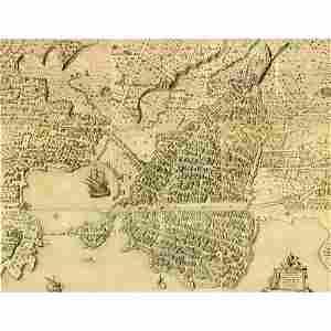 1725 GIOVANNI GIORGIO GRAEVIO INCISIONE all'acquaforte