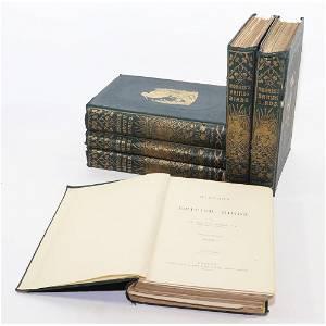 "SEI VOLUMI Morris F. O. ""History of British birds"", ed."