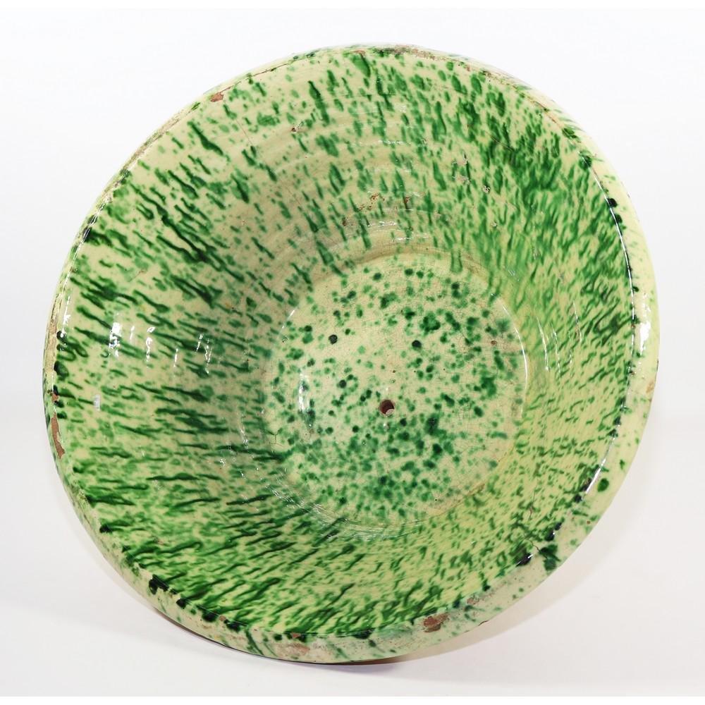 LEMMO in maiolica policroma nei toni del verde. Burgio