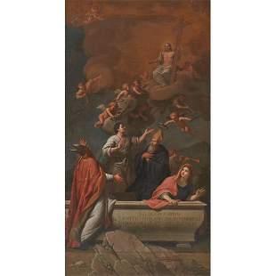 SCUOLA ITALIANA DEL XVIII SECOLO La Resurrezione di