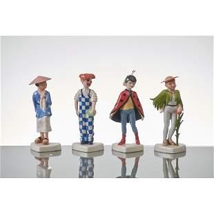 ROYAL COPENHAGEN Quattro sculture