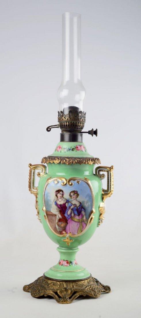 LUME Luigi Filippo in porcellana dipinta a mano con