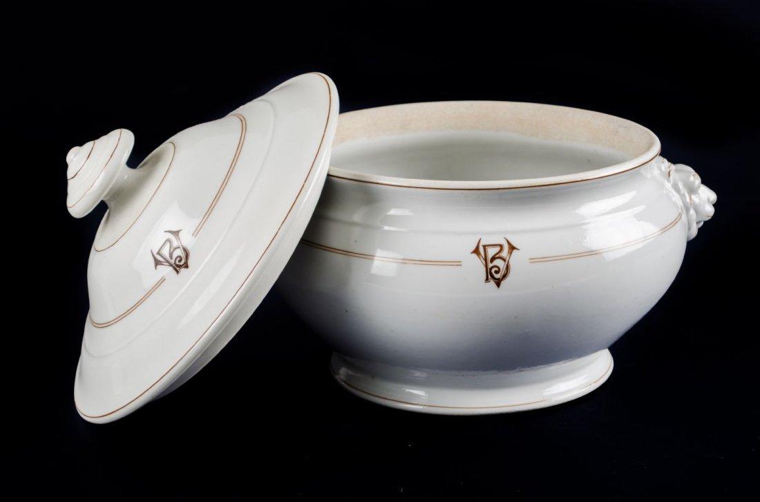 ZUPPIERA in ceramica bianca Bollate Milanese con manici