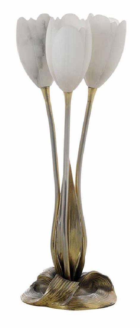 Albert Cheuret [Trois Tulipes] Lamp