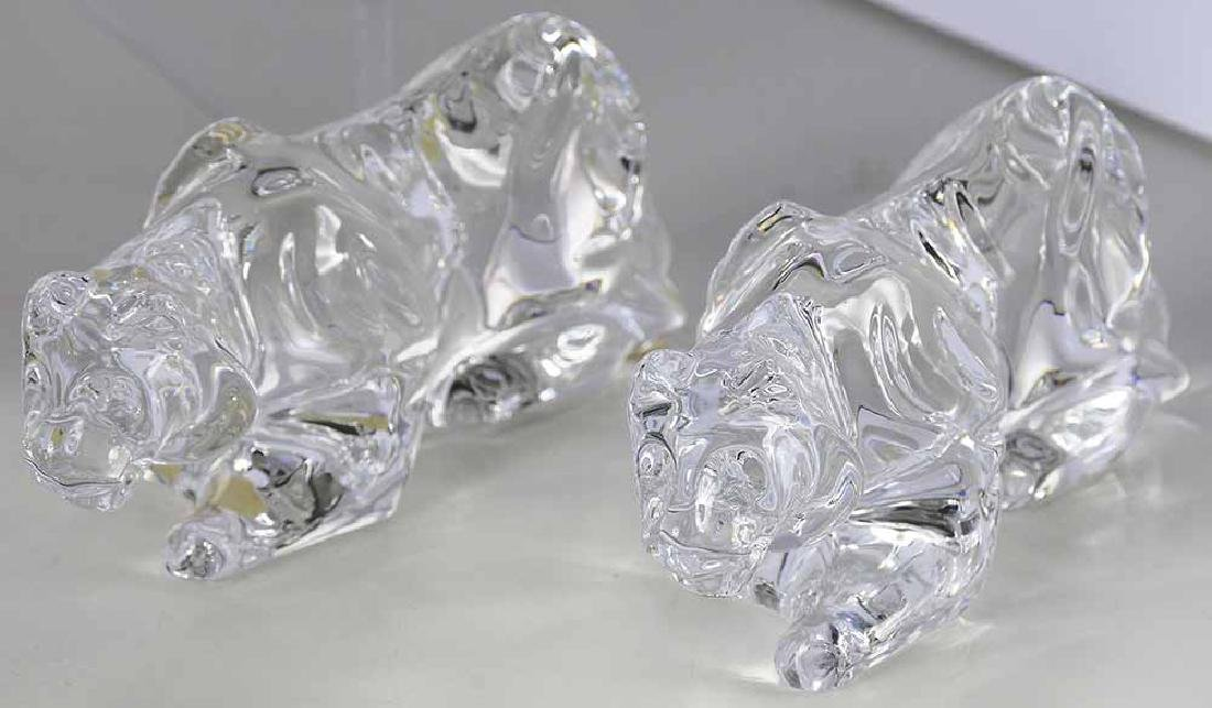 Eight Baccarat Crystal Table Ornaments - 4