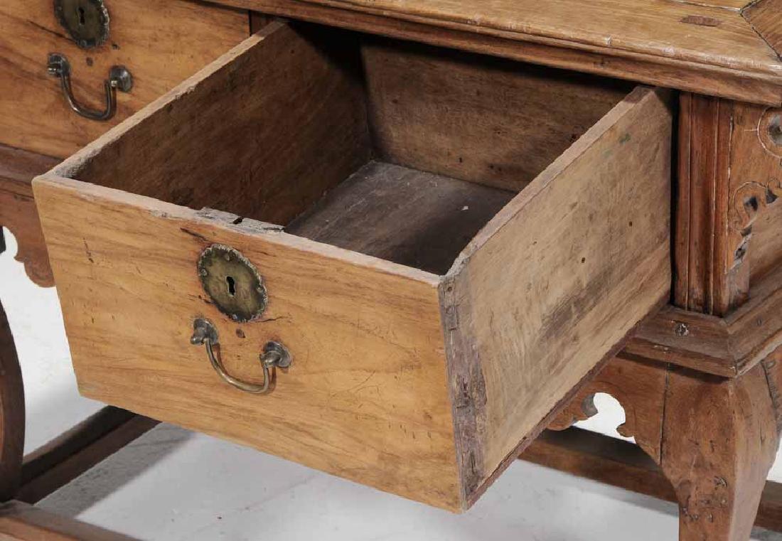 Baroque Mahogany Two-Drawer Server - 3