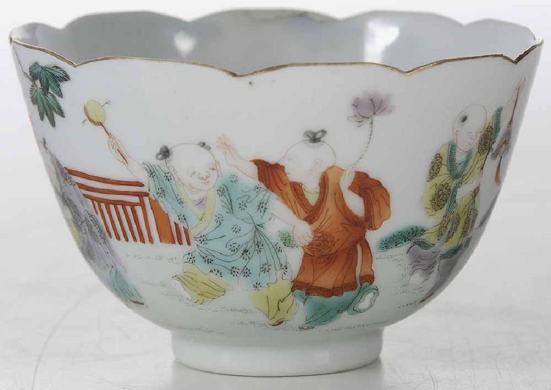 Famille Rose Tea Cup With Enameling - 2