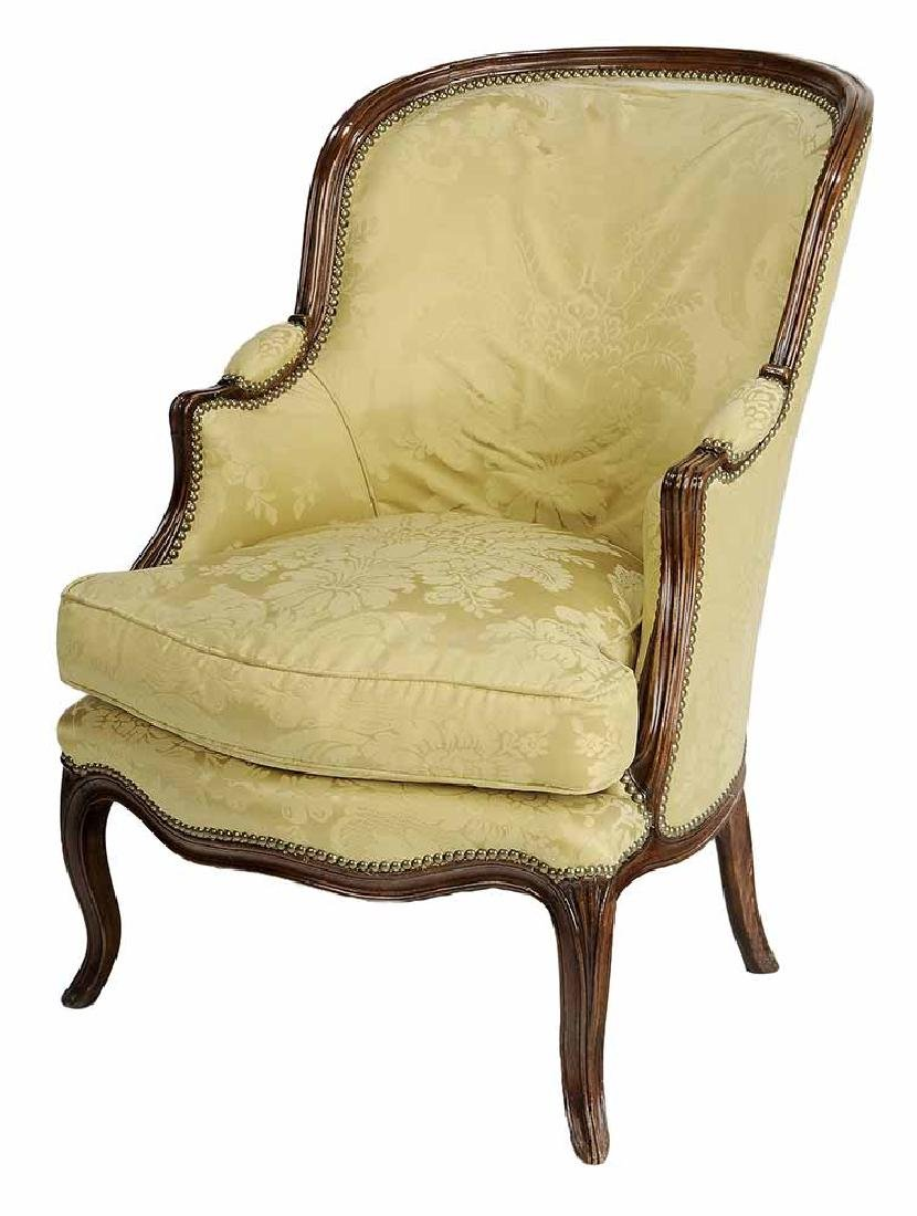 Louis XV Style Carved Beechwood and