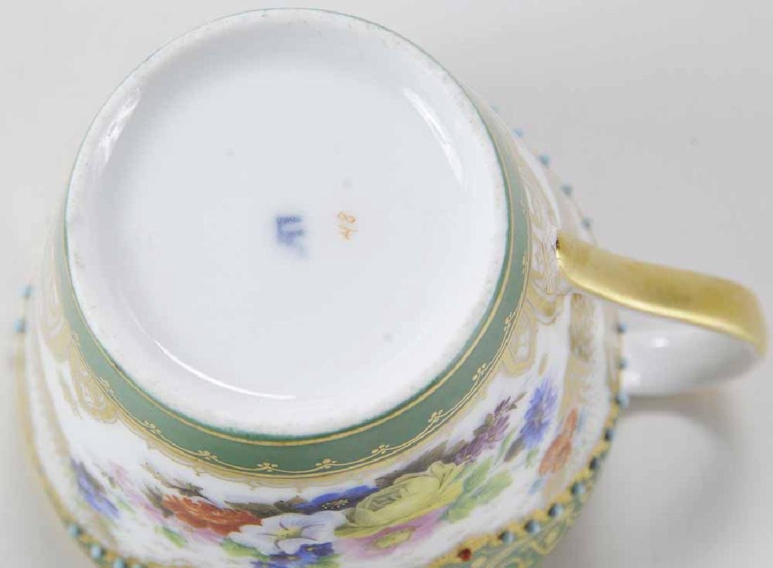 Popov Factory Porcelain Cup and Saucer - 4