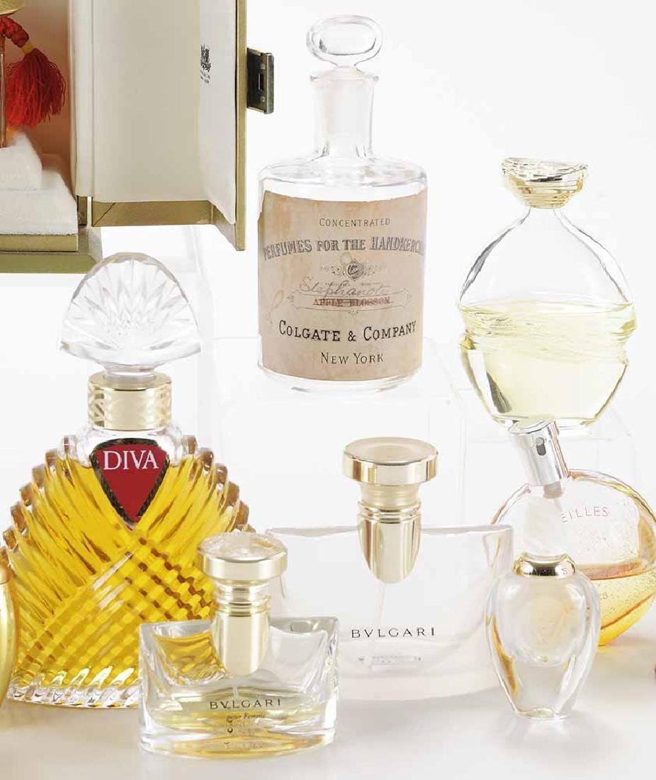 Twenty-one Perfume Bottles and - 4
