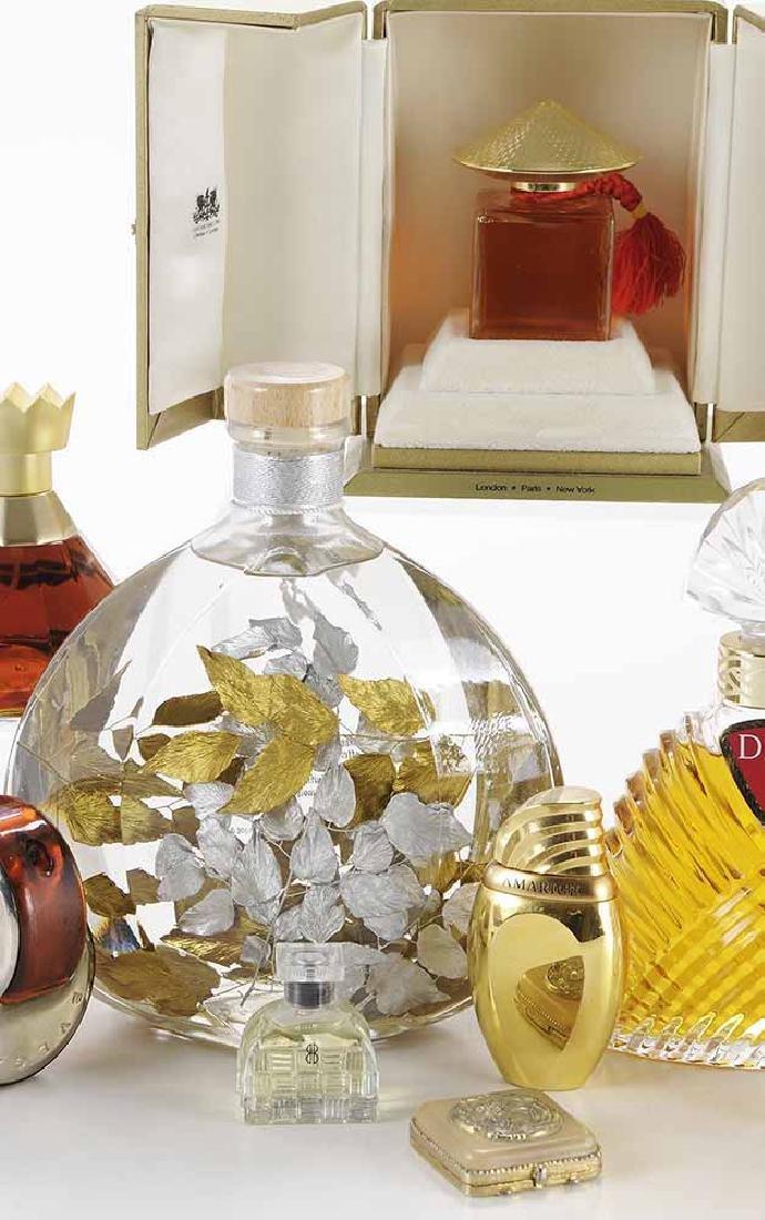 Twenty-one Perfume Bottles and - 5