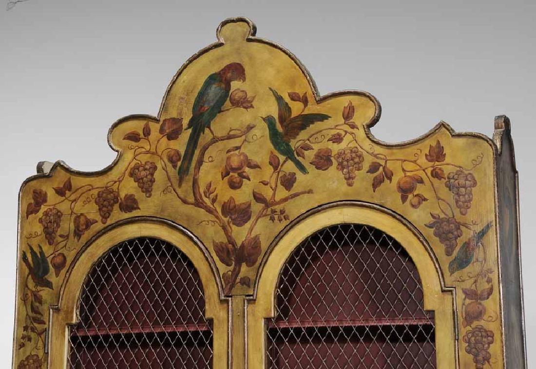 Pair Italian Baroque Style Paint- - 6