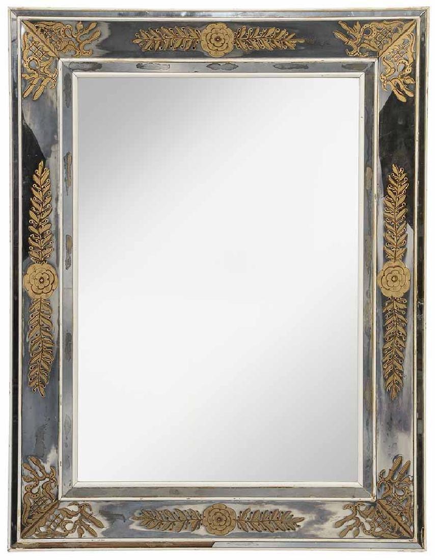Venetian Style Eglomisé Mirror-Framed
