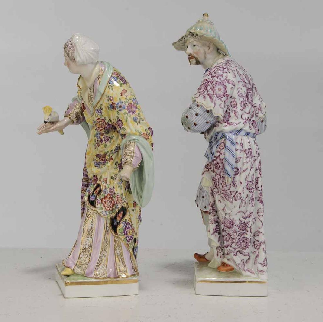 Pair KPM Berlin Porcelain Figures - 3