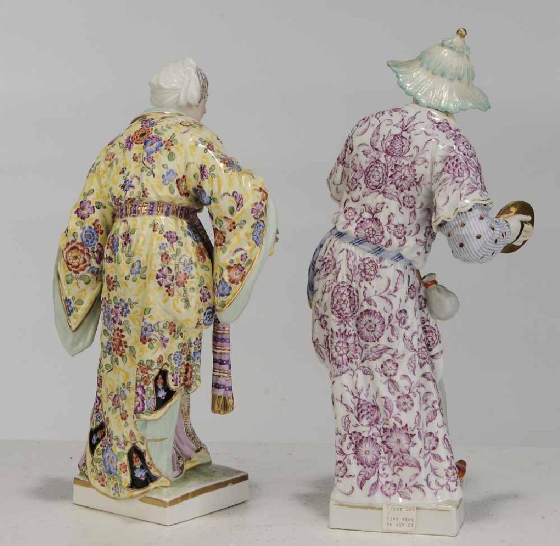 Pair KPM Berlin Porcelain Figures - 4