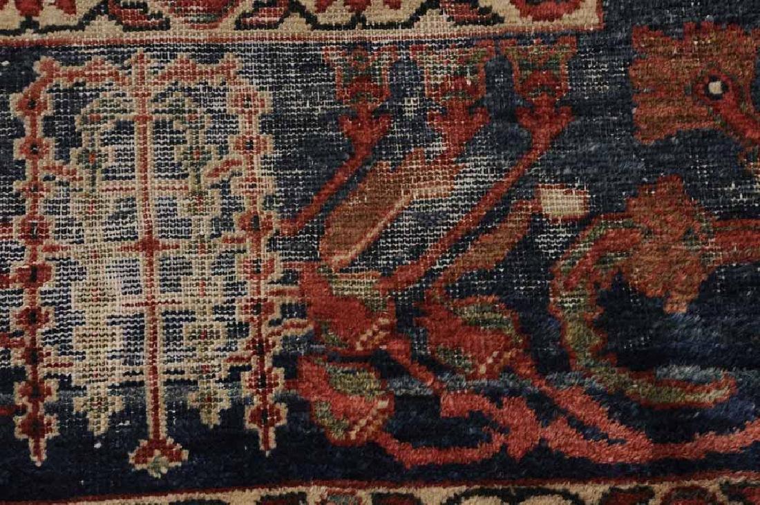 Antique Sarouk Carpet - 5
