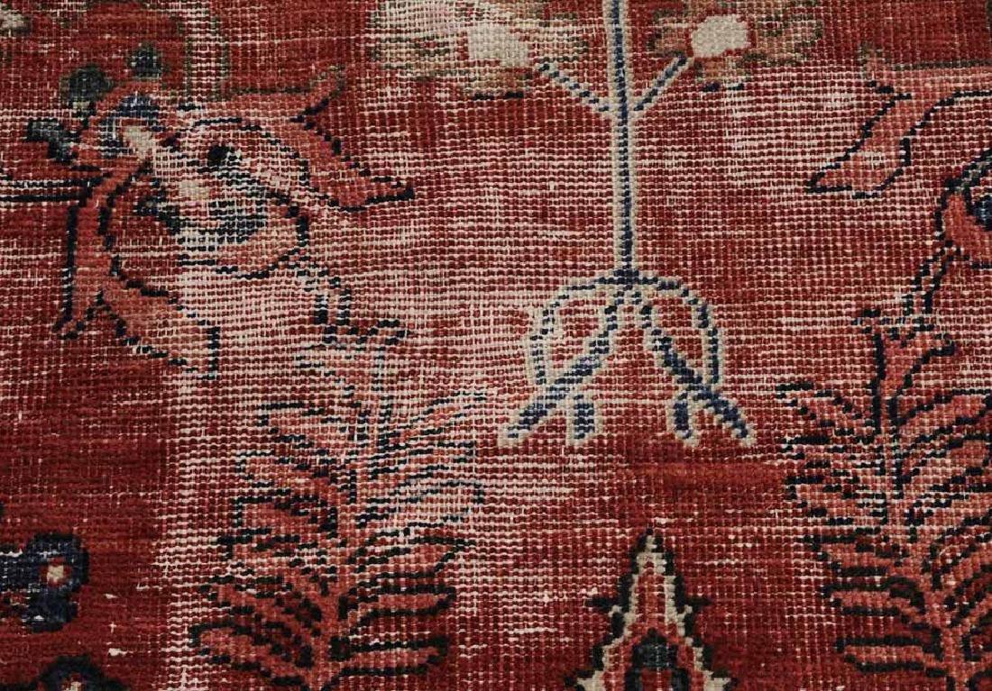 Antique Sarouk Carpet - 6