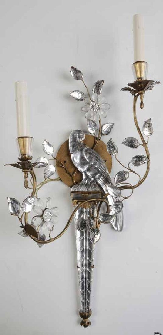 Set of Four Rock Crystal Parrot Wall - 3