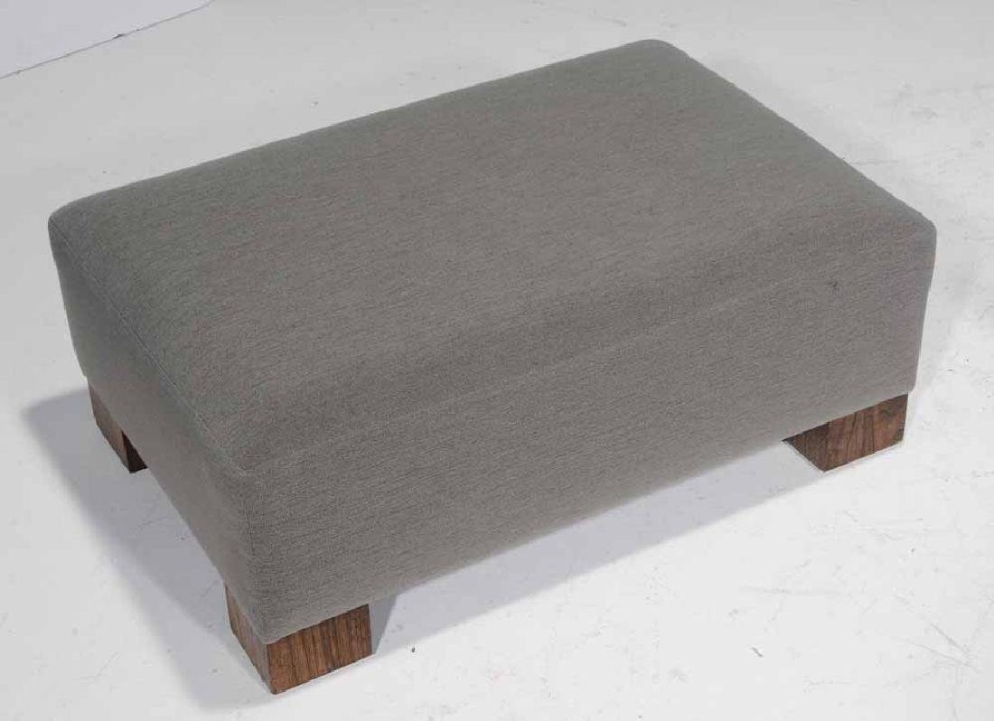 Walnut-Veneered and Upholstered - 3