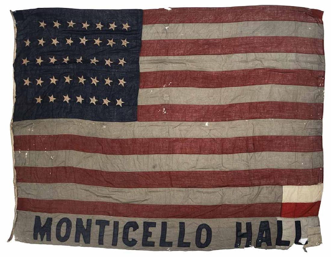 Richmond, Virginia Flag Banner, 38 Stars