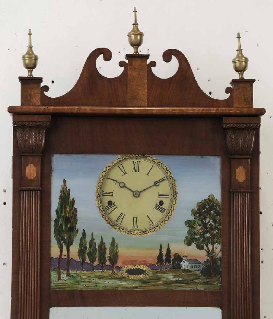 Federal Mahogany Wall Clock - 3