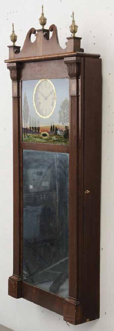 Federal Mahogany Wall Clock - 5