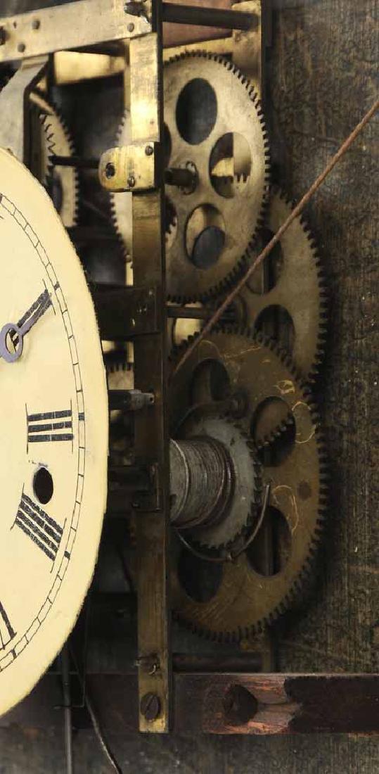 Federal Mahogany Wall Clock - 7