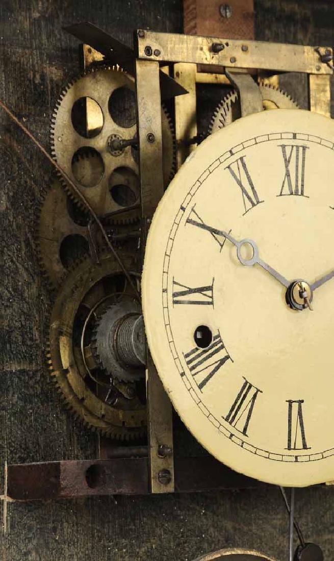 Federal Mahogany Wall Clock - 8