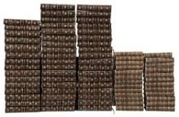 76 Leather-Bound Books