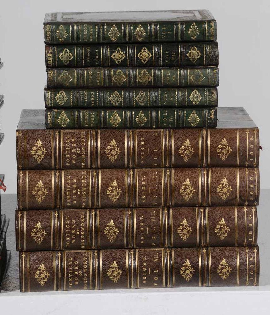 Sixteen Leather-Bound Books - 3