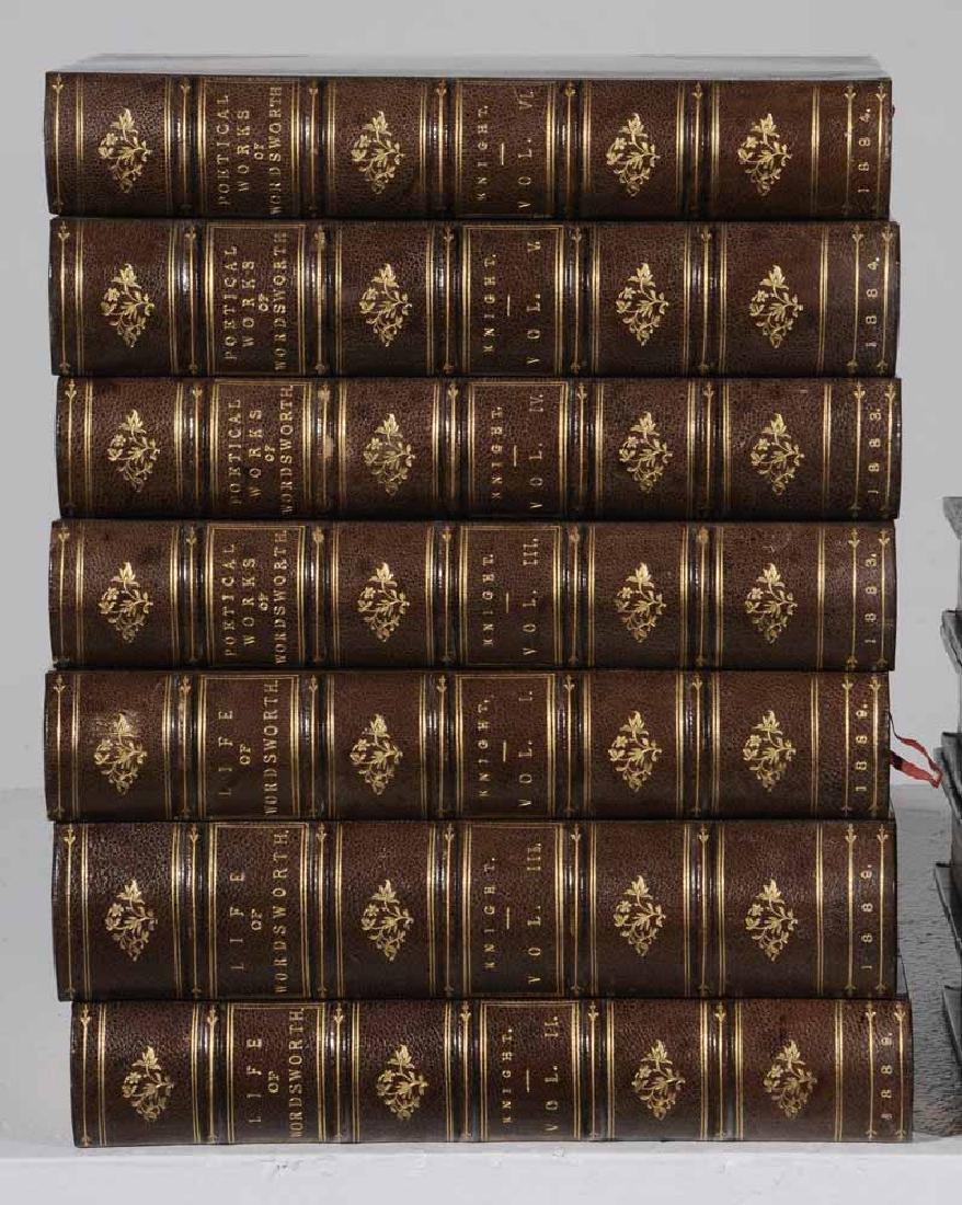 Sixteen Leather-Bound Books - 4