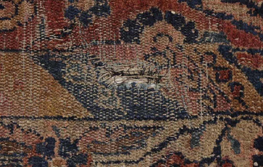 Inscribed Persian Carpet - 10