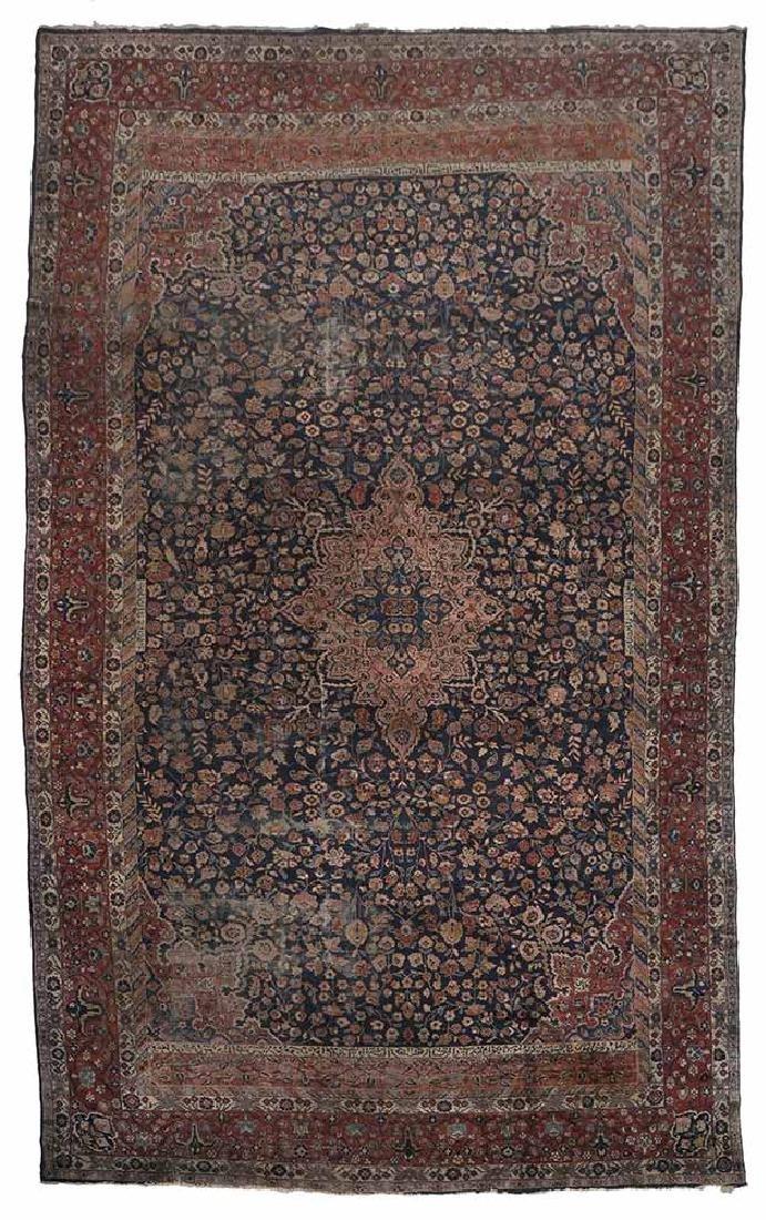 Inscribed Persian Carpet