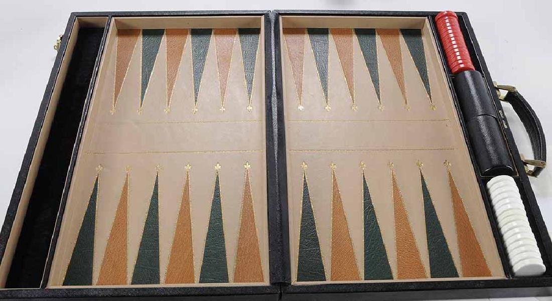 Group of Six Backgammon Items - 4
