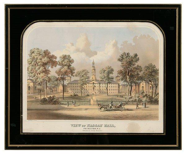 17: Print of Princeton University,