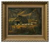 62: Painting by Eugene Thomason