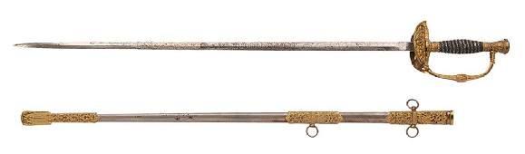 Kentucky/Ohio Civil War Commemorative Line Sword