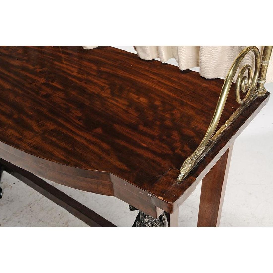 Empire Mahogany and Brass Mounted Pier Table - 2