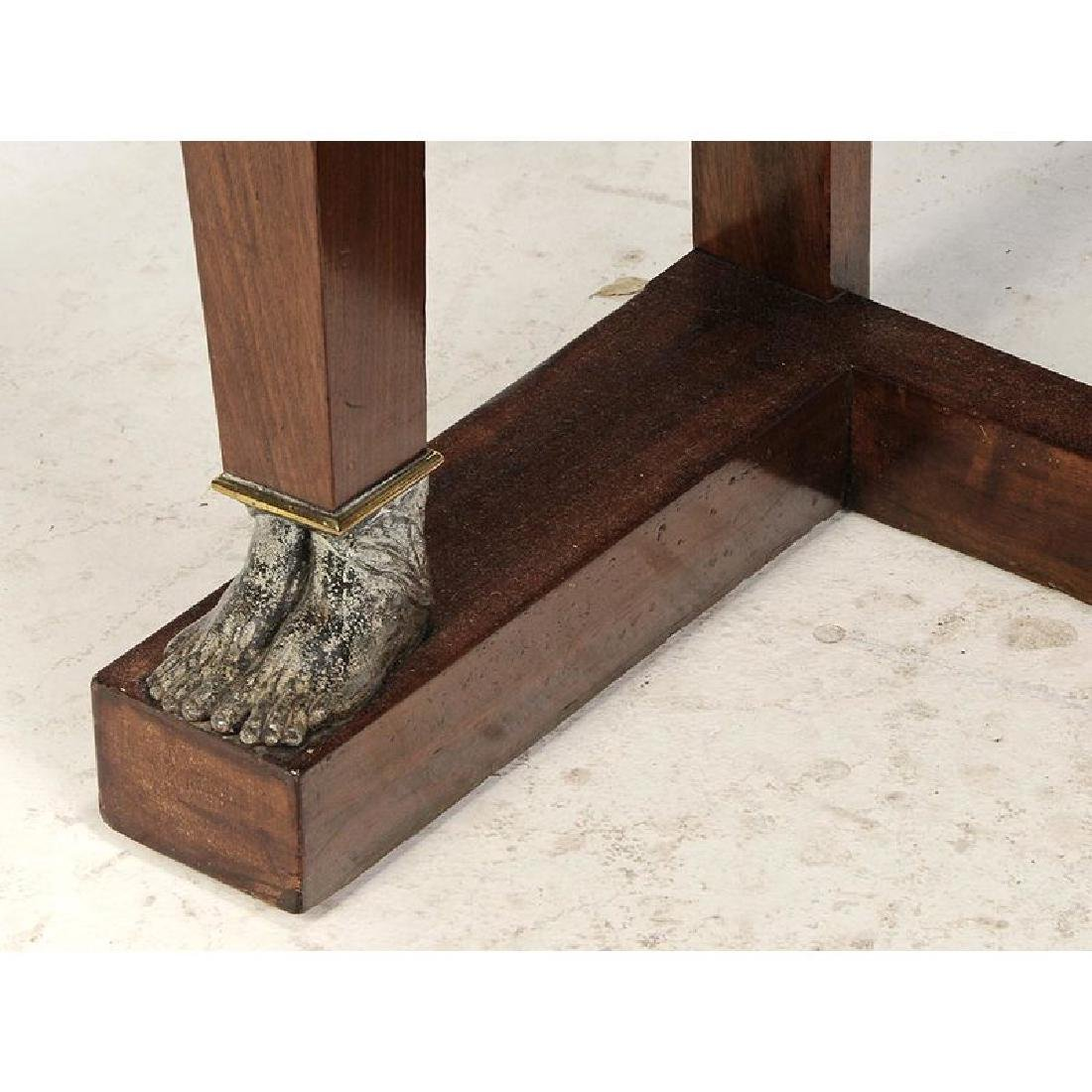 Empire Mahogany and Brass Mounted Pier Table - 5