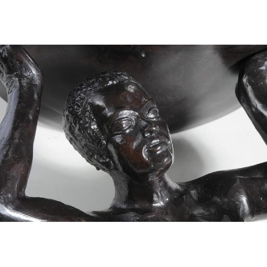 Bronze Atlas Figure - 5