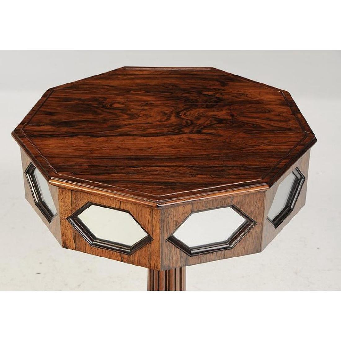 Classical Rosewood and Gilt Pedestal Table - 3