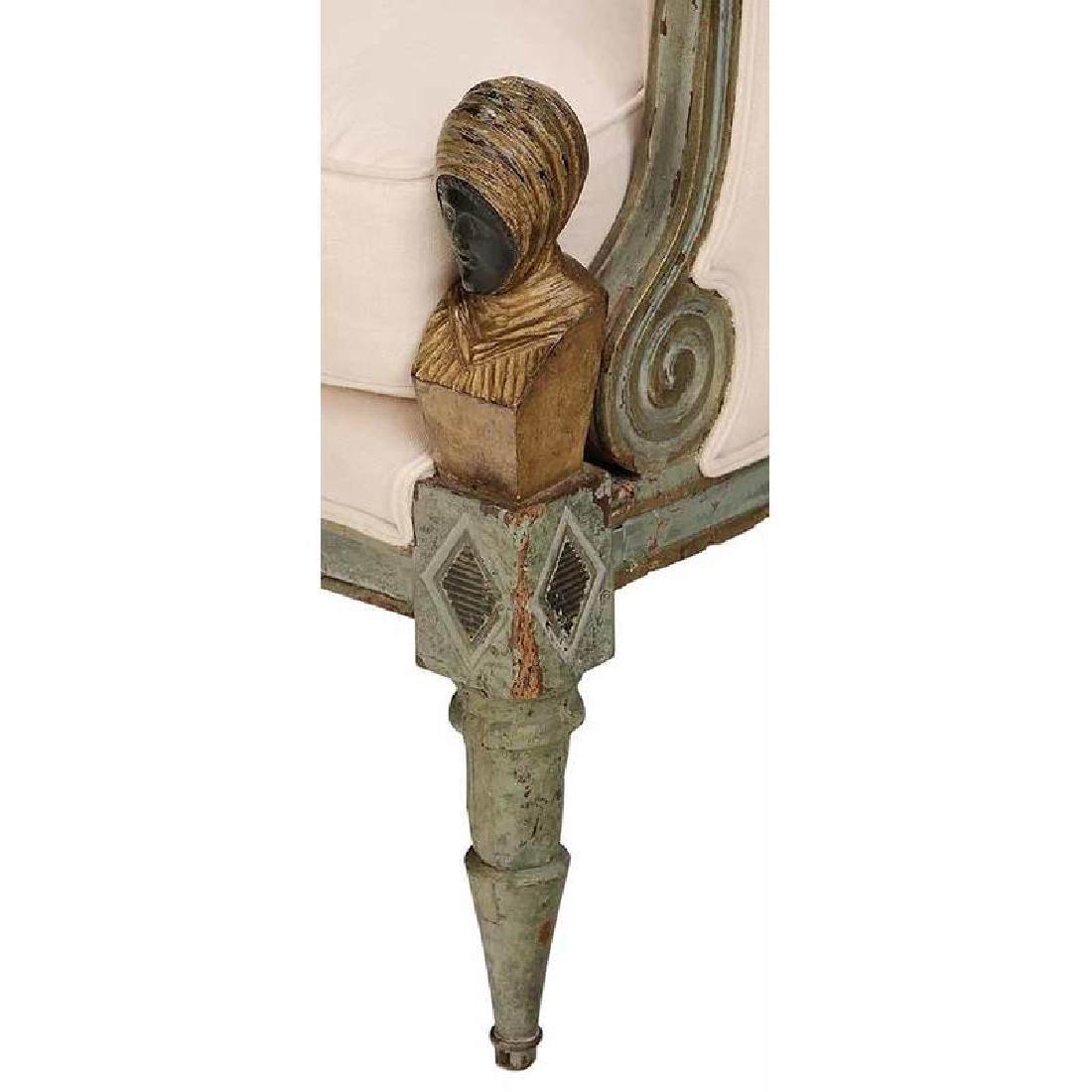 Pair Italian Neoclassical Arm Chairs - 2