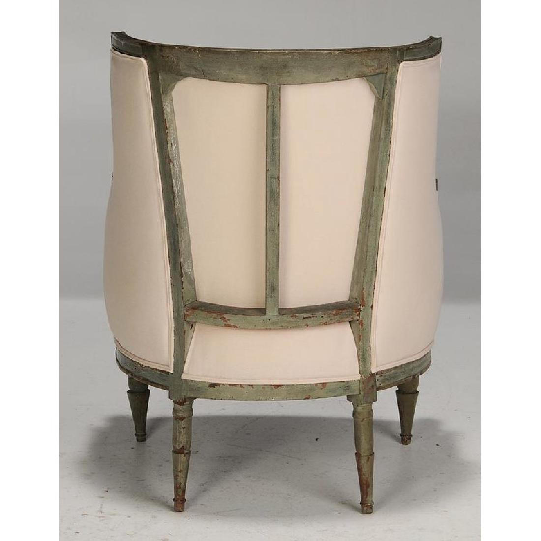 Pair Italian Neoclassical Arm Chairs - 3