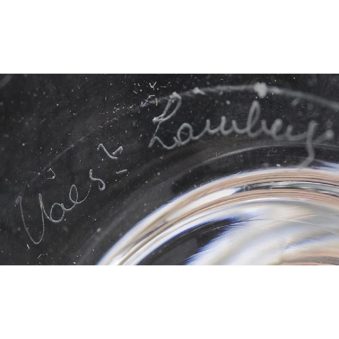 Ten Glass Candlesticks: Cartier and Val St. Lambert - 3