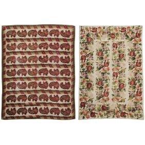 Two Needlework Carpets