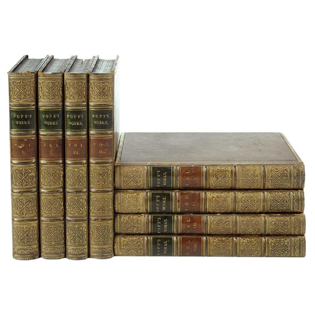 The Works of Alexander Pope Eight Volumes